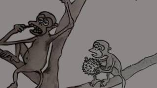 Lawak Sabah - beruk & durian