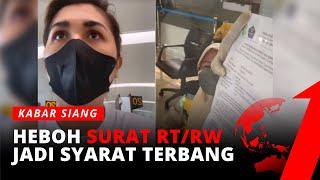 Download Heboh Video Selebgram Protes Soal Surat RT/RW Jadi Syarat Terbang | Kabar Siang tvOne