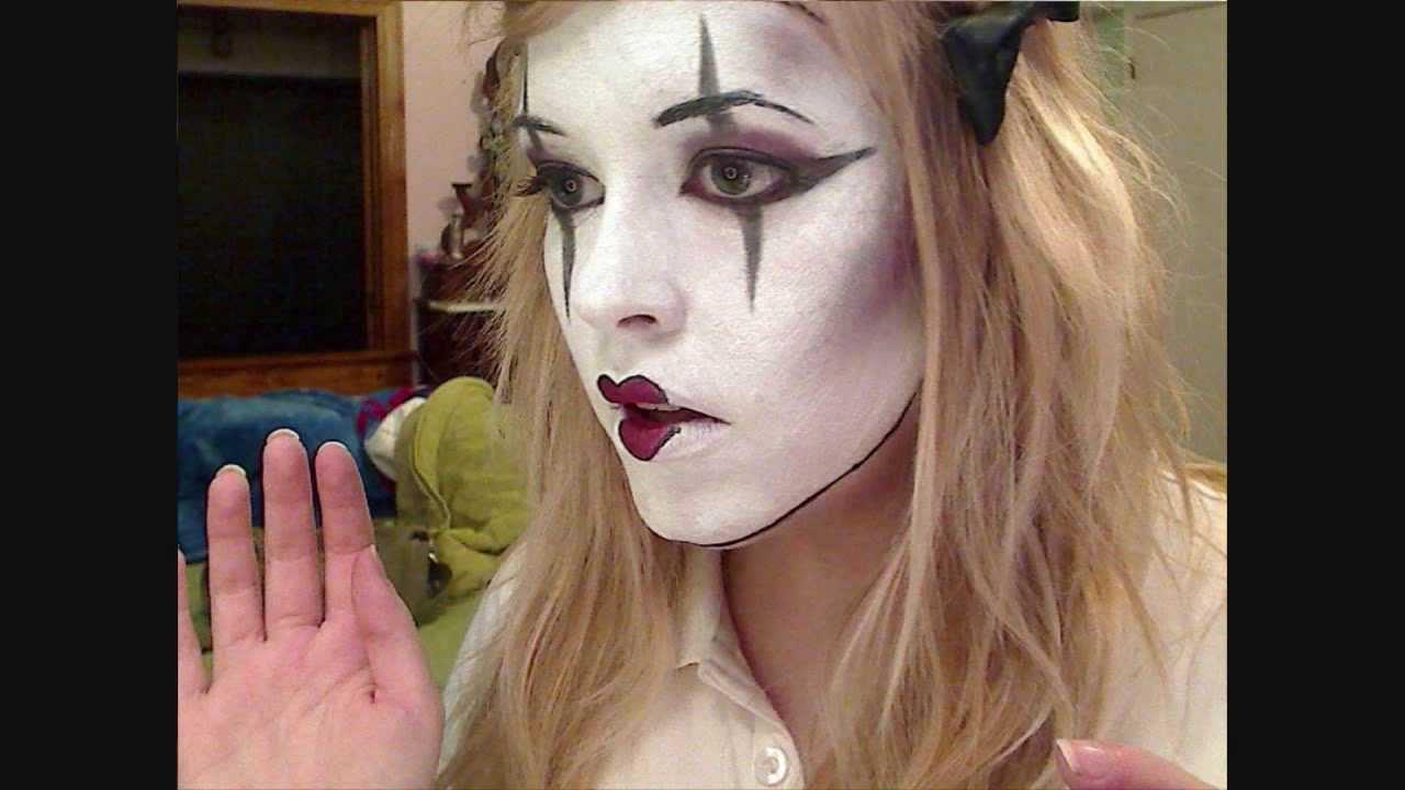 Mime Makeup Tutorial - YouTube