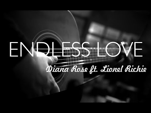 endless love - diana rose ft lionel richie / shania twain ( karaoke / backing track instrumental )