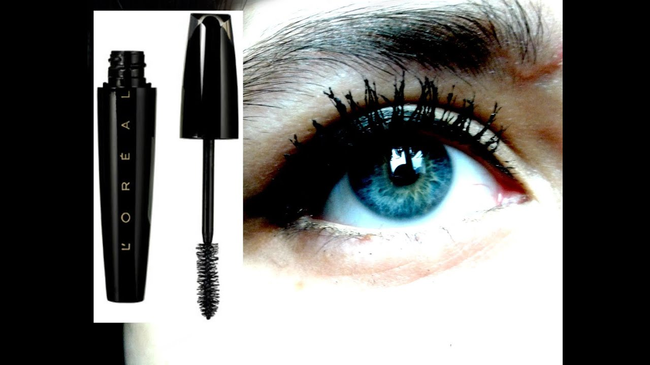 0a24ad6be32 L'Oréal Voluminous Extra Volume collagen | mascara demo - YouTube