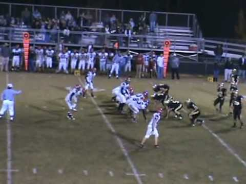 Hayesville High School vs. Andrew High School Football 2009 Part 2