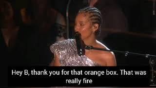 Alicia Keys - Someone You Love rendition with LYRICS