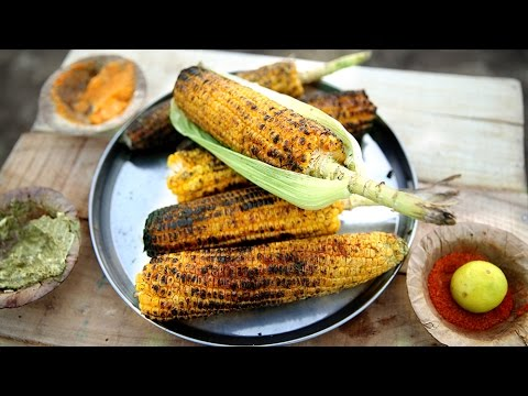 Grilled Corn 3 Ways | Grilled Corn On The Cob | The Bombay Chef - Varun's Getaway
