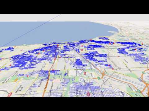 Multi-Driver Road Network Route Optimization for Chicago
