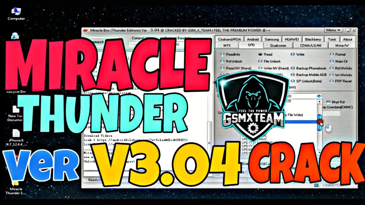 Miracle Thunder v3.04 Crack No Need Hwid 2020