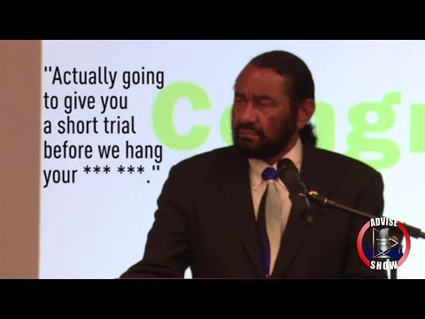 Radical Caucasian Terrorists Threatened Rep. Al Green With Lynching For Seeking To Impeach Trump