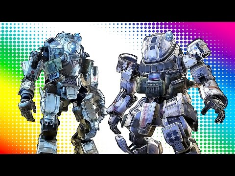 EPIC 1v1 TITAN FIGHTS & SWORD BATTLES (Titanfall 2 Funny Moments)