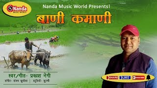 bani kamani | prakash negi | Latest Uttarakhandi Geet | Garhwali Song |