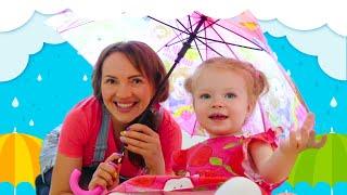 Rain Rain go away by Sasha Kids Channel.Sing along and play with Sasha Raining song
