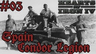 Hearts of Iron IV - Total War mod 03 Germany - Condor Legion in Spain!