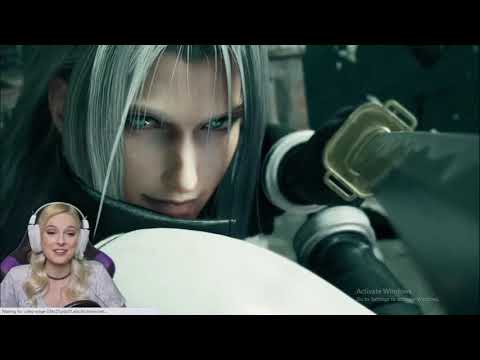 Aerith's Finally gets a chance to beat Sephiroth  