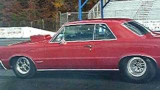 Lil Jack Pumphrey and his 1965 GTO making 8 second passes
