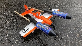 - Rocket powered Disney Planes Dusty Amazing Flight