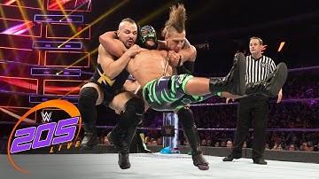 Kalisto & Lince Dorado vs. Ryan DePolo & Chris Robinson: WWE 205 Live, July 24, 2018