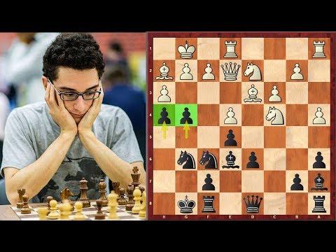Fabiano Caruana's Best Attack vs. Magnus Carlsen