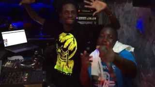 Mc Emma and DJ Smash At Club Signature Kisumu