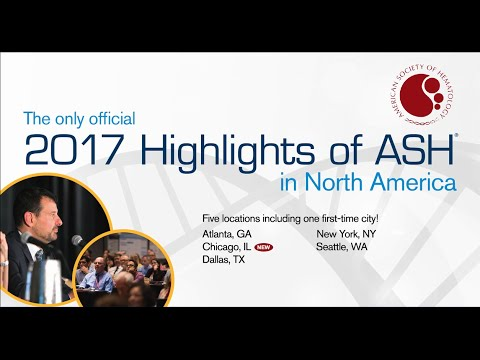 2017 Highlights of ASH® in North America