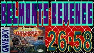 Castlevania II: Belmont's Revenge Any% Speedrun 26:58 [NTSC/PAL]