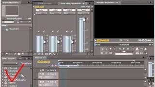Как работать с панелями и окнами в Adobe Premiere Pro CS5.5.