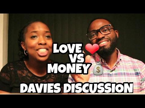 Ope and Ayo: Love vs Money #DaviesDisussion