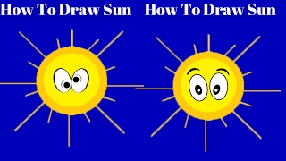 How To Draw Sun|How To Draw Sunflower|How To Draw Sunlight For Kids real