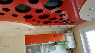 Резные натяжные потолки. Краткий обзор