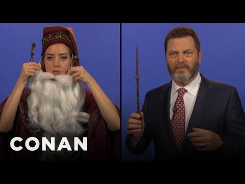 Teen Dumbledore Auditions  - CONAN on TBS