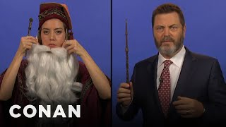 Teen Dumbledore Auditions  - CONAN on TBS