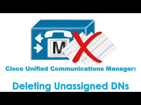 Cisco Unified Communicatıons Manager (CUCM): Deleting Unassigned Directory Numbers
