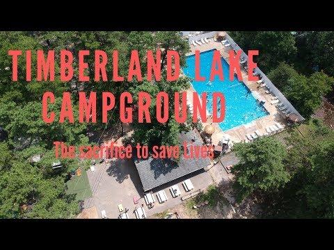 The Sacrifice To Save Lives. Timberland Lake Campground. Jackson, NJ.