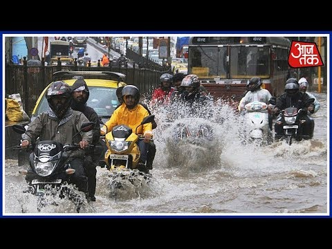 Mumbai Flooded After Heavy Rains,  Rail, Road, Air Services Disrupted