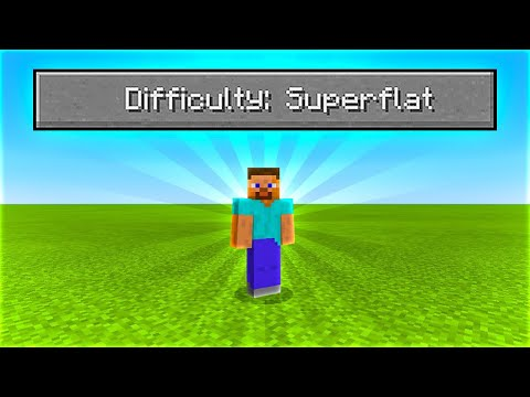 can-you-beat-minecraft-in-a-superflat-survival-world?