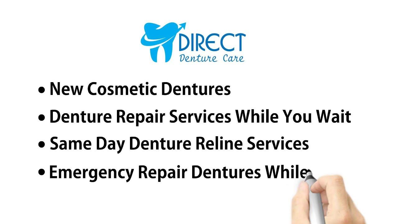 Emergency Denture Repair in Perth WA   Direct Denture Care