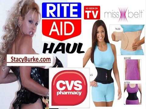 Miss Belt Waist Cincher Review / CVS Rite Aid Haul