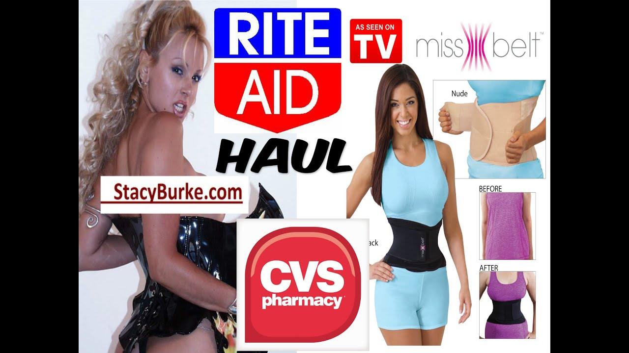 c45702e4b1 Miss Belt Waist Cincher Review   CVS Rite Aid Haul - YouTube
