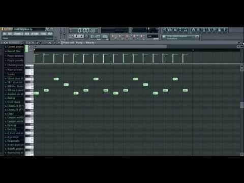 "How to make a A$AP Ferg, ""Work"" beat on fl studio 11"