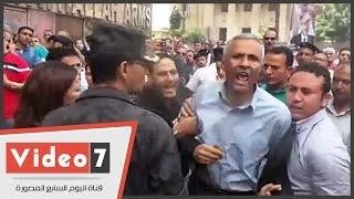 منع أبو السعود محمد عضو مجلس نقابة الصحفيين من دخول شارع عبد الخالق ثروت
