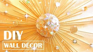 Turn Old Cds Into Wall Decor | Diy Tumblr Room Decor
