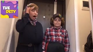 Незванные гости.Почему мальчики обманули Еву? Kids vlog.