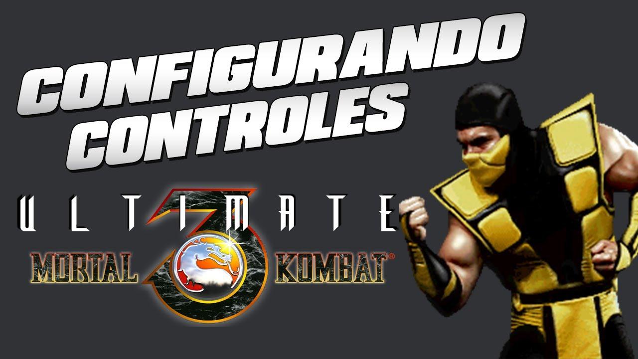 Tutorial Fightcade 2 - ULTIMATE MORTAL KOMBAT 3 Arcade version - Configurando controles