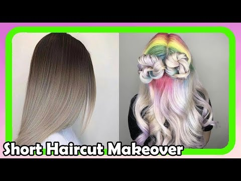 Beautiful Short Haircut Makeover #9 ● Extreme Hair Makeover ● Hairstyles 2018