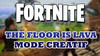 FORTNITE - THE FLOOR IS LAVA