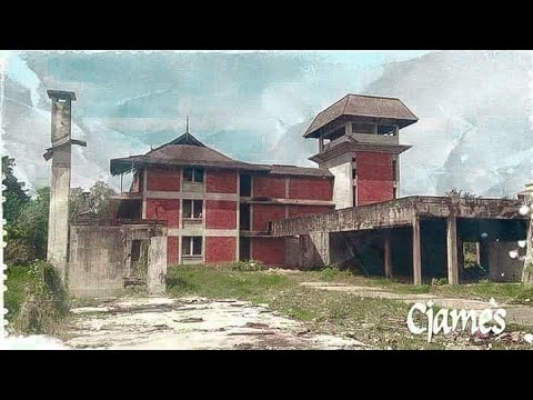 Abandoned Building of Borneo Hotel at Tanjung Aru, Sabah (Someone lived here)