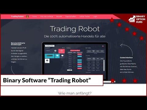 Infos zu Binary Software Trading-Robot