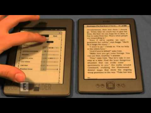 Amazon Kindle Touch VS. Kindle 4th Generation