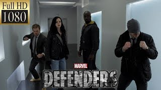 Сорвиголова против Электры | Daredevil vs Elektra  (Защитники|The Defenders) HD 1080