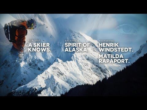 A Skier Knows - Spirit Of Alaska