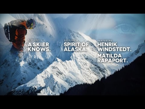 A Skier Knows - Spirit Of Alaska