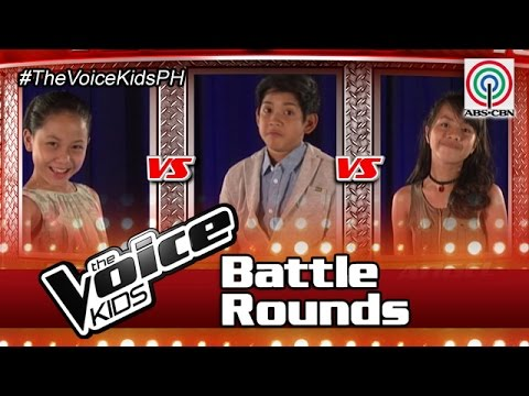 """The Voice Kids Philippines Battle Rounds 2016: """"Empire State Of Mind"""" by Kris, Nirro & Angel"""